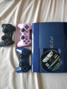 ps3 with 10 games and 3 controllers