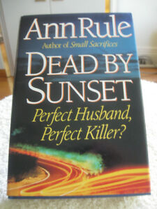 "1995 TRUE-STORY THRILLER...""DEAD by SUNSET"" by Ann Rule"