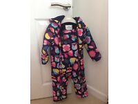 Girls all-in-one winter suit