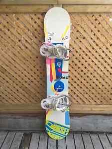 Snowboard femme Rome Detail avec fixations Escapade Burton