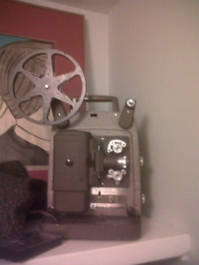 vintage bell and howell 8mm (not super 8) film projector