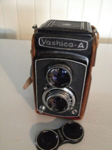 SOLD PPU:  Yashica-A Medium Format Film Camera for Sale