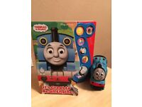 Thomas tank music book and soft toy