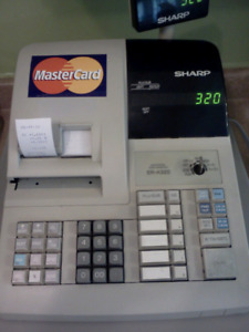 Sharp ER-A320 Cash Register.
