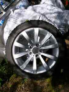 Alloy Wheels with Snows