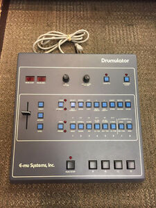 Vintage E-mu Systems Drumulator Model 7000 Drum Machine