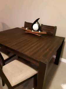 Rustic Style Dining Set