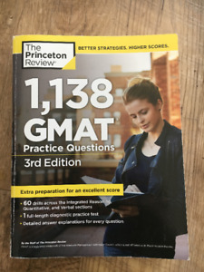 GMAT Practice Questions Book - Like New