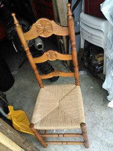 A set of 6 chairs, including a king and queen set
