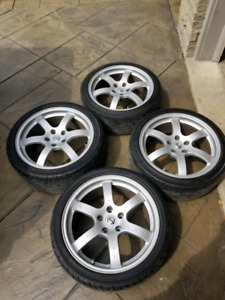 OEM Nissan 350z Track Edition Rays Wheels