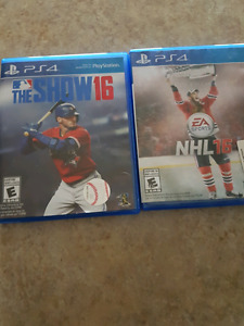 The Show 16, NHL 16 PS4