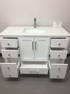 "36""& 48""WOOD Construction Bathroom Vanities(WAREHOUSE SALE)"