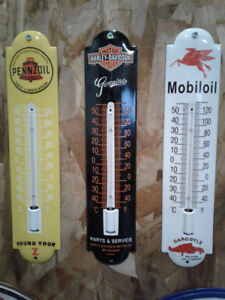 COOL HARLEY THERMOMETERS
