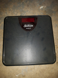 Sunbeam digital scale