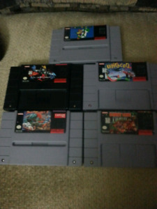 SNES 5 game bundle!