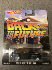 Hot Wheels Entertainment Back to the Future Ford Super De Luxe