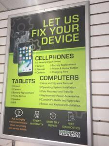 LET US FIX YOUR DEVICE - Cellphones, Laptops & Tablets