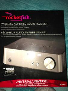 Rocketfish Wireless Amplified Audio Receiver