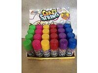 X24 cans of silly string, great for parties, Halloween, Christmas