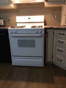 STOVE AND FRIDGE THE PAIR BY FRIGIDAIRE