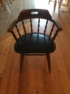 Solid Wood Desk Chair London Ontario image 1