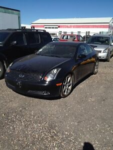 Parting out 2004 Infiniti g35 coupe