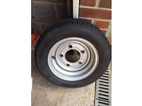 Ifor Williams trailer wheel/tyre