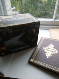 Uncharted 3 PS3 explorers edition with extras