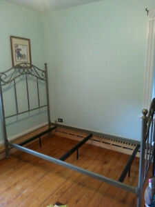Heavy Metal Single Bed Frame
