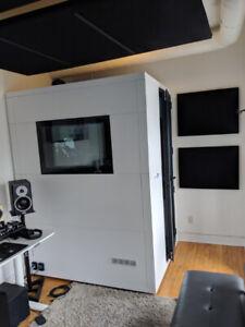 Portable Studiobricks Recording Booth