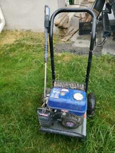6.5hp Gas Motor and cart from Power Washer