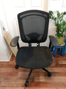 Office Computer Chair_Contessa Teknion_black