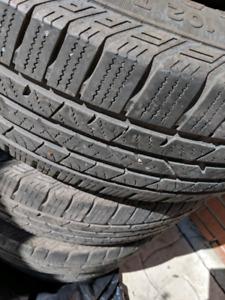 4 pneus ete 225/65r17