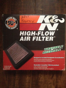 K & N High-Flow Lifetime air filter Part # 33-2423