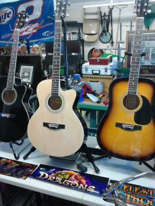 Brand New Acoustic Guitars