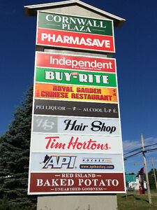 Commercial Retail Space - NOW AVAILABLE - CORNWALL PEI