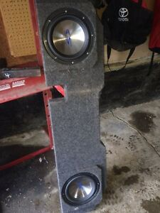 Sealed sub Box Dodge Ram 1500/2500