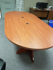 Large Boardroom Table -- excellent shape!