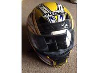Nitro motorcycle helmet Small
