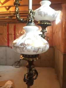 Vintage floor to ceiling lamp. It's a classic!!!!