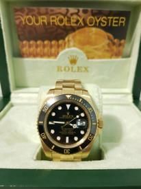 ROLEX SUBMARINER BLACK GOLD for sale  West End, London