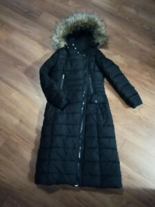 LADIES LONG WINTER JACKET SIZE S