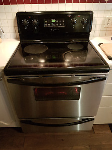 Frigidaire Stainless Steel, Glass Top Stove & Oven