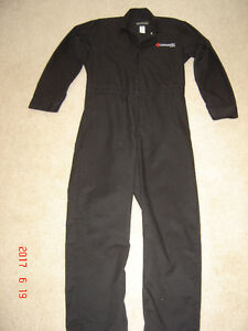 Canadore Collage Aviation Black Coveralls