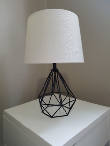 high quality cast iron caged lamp