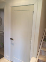 DOORS INSTALLATION - COMMERCIAL and  RESIDENTIAL, EXTERIOR and I