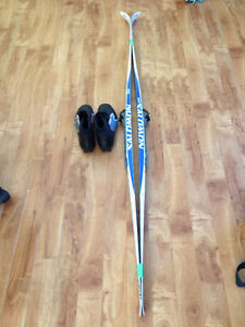 New Salomon Elite 5 wax less Skis and Boots