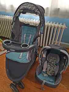 Graco Travel System - Stroller and Car seat