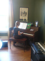 Daytime Piano & Voice lessons for home-school children