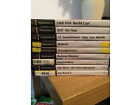 Sony ps2 game bundles all sorts